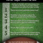 5 Reasons Homeowners Throw Better Superbowl Parties