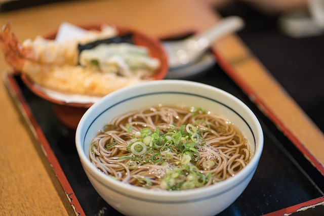 Hibachi House Grill & Bar image of japanese soup with noodles