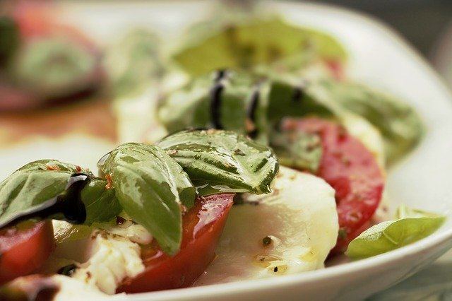 Rochester Area Restaurants Silver Sppon Ristorante image of caprese salad