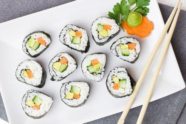 Rochester Area Restaurants Sushi Kafe image of sushi