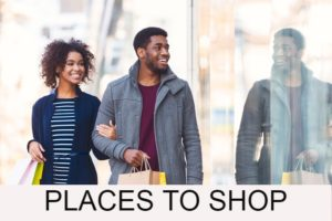 Rochester Hills Area Places To Shop Button